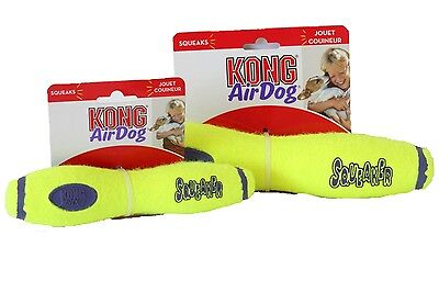 KONG AIRDOG SQUEAKER STICK Perfect for Games of Fetch Non-Abrasive Material Air Dog Fetch Stick