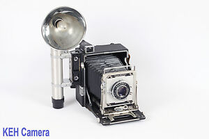 Vintage-Graflex-Crown-Graphic-4x5-Camera-Flash-AS-IS-Auction-24409