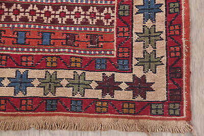 Tribal Nomad Geometric Kilim Oriental Runner Rug Wool Hand-Woven 3x9 NEW Carpet for sale  Shipping to South Africa