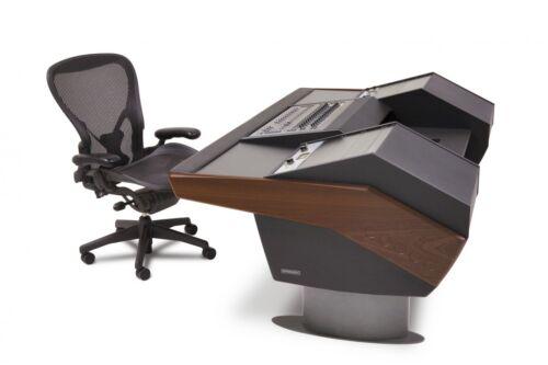 Argosy G22 Desk For Avid S3 | G22-s3-rr9-b-m-g