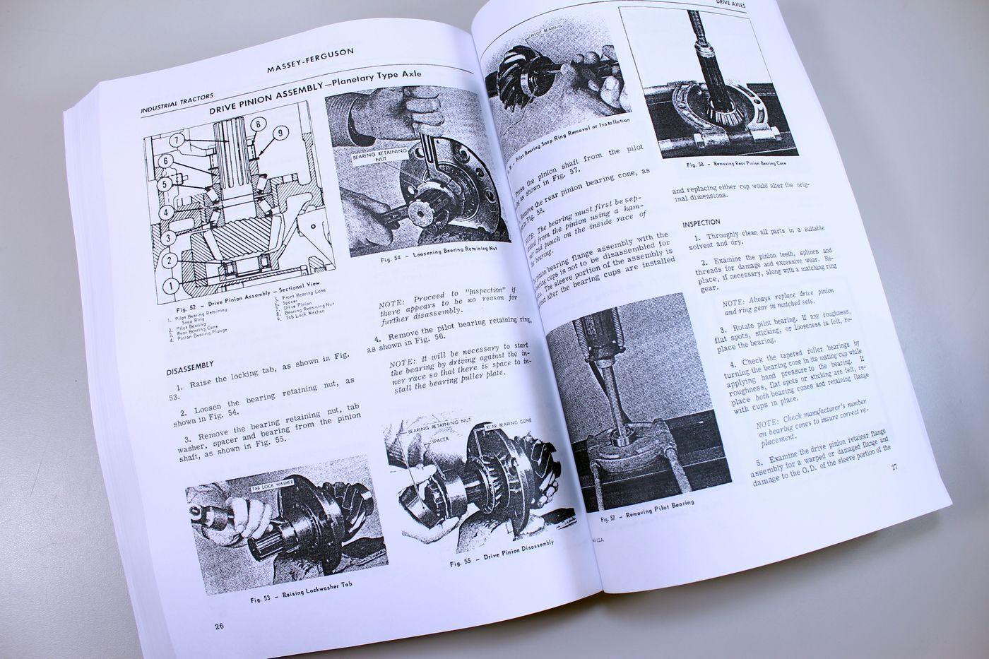 9 of 10 Massey Ferguson 180 Tractor Service Repair Shop Manual Technical  Workshop Mf180