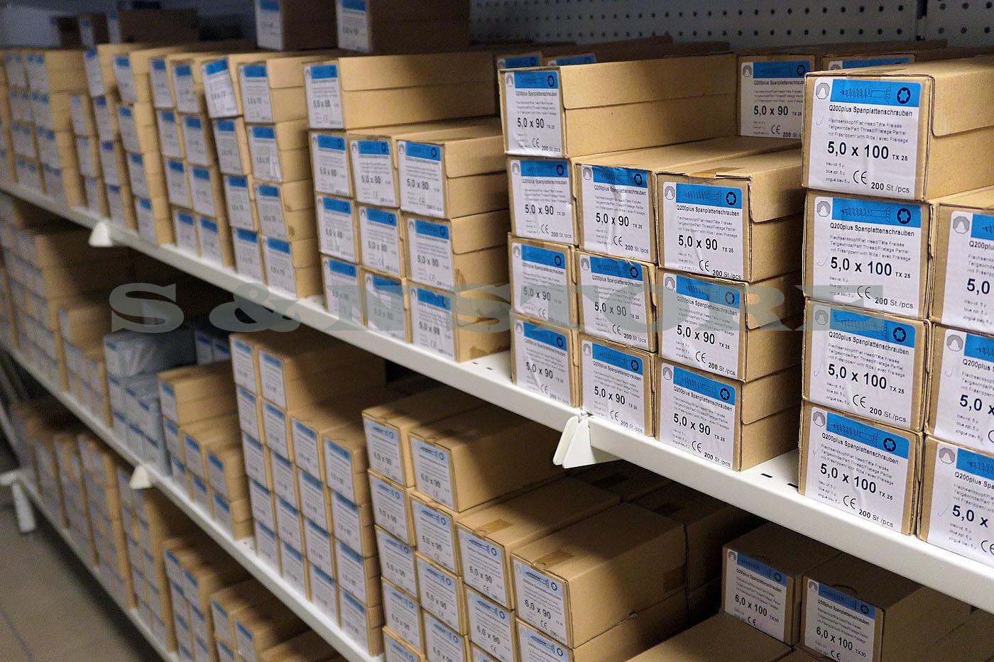 Spanplatten Schrauben Teilgewinde Holzschrauben Torx 3,0x35 - 6,0x200 Fräsrippe