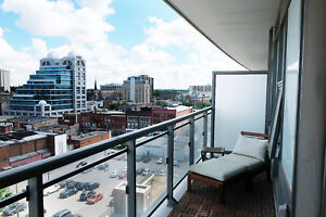 Fully Furnished One Bedroom + Den Suite - City Centre Condos