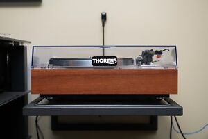 Thorens TD-160 Turntable Rebuilt and Upgrade with Rega arm