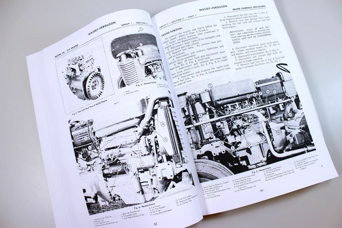 6 of 7 Massey Ferguson Mf 65 Tractor Service Manual Technical Repair Shop  Workshop 7 of 7 See More