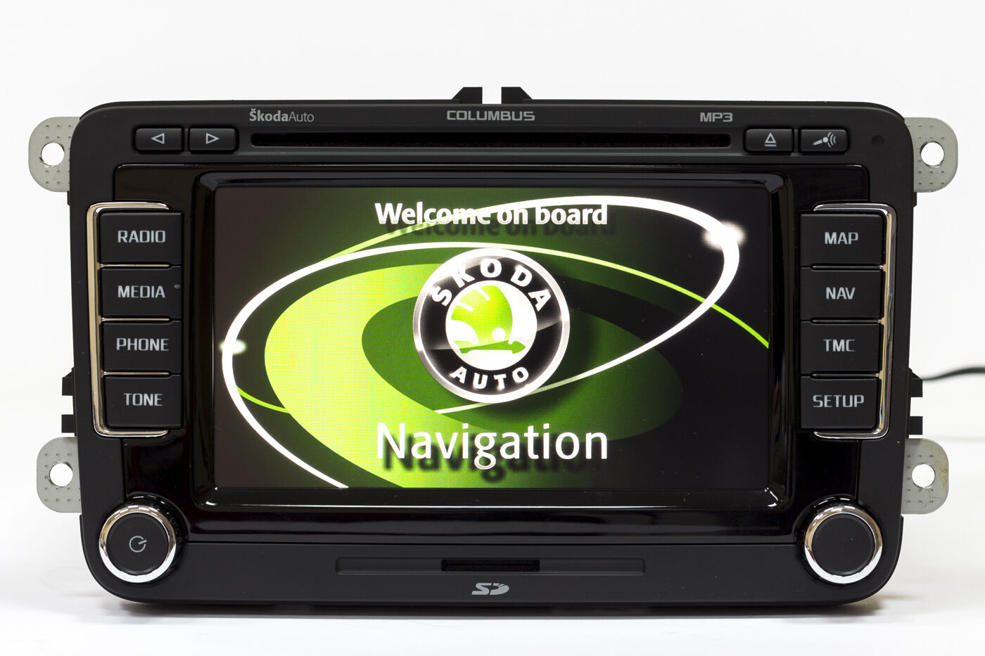skoda columbus led v14 maps octavia 2004 2013 rns 510 gps navigation navi radio ebay. Black Bedroom Furniture Sets. Home Design Ideas