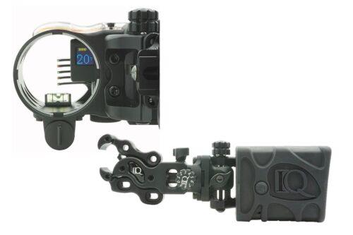 IQ Define Digital Range Finder Bow Sight 5 Pin Rangefinder Right Handed  IQ00354