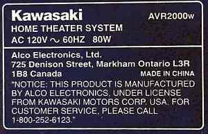 Système de Cinéma maison KAWASAKI Saguenay Saguenay-Lac-Saint-Jean image 9
