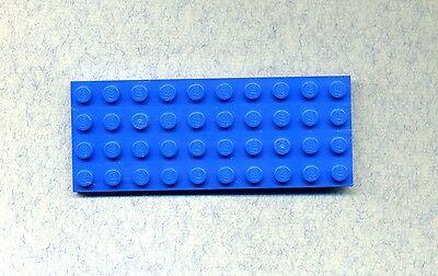 LEGO 3030 GRUNDPLATTE BAUPLATTE BLAU 4 X 10