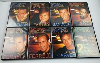 Lot of 8 SNL Best of DVD Sketch Spoof Comedy TV Show NBC Saturday Night (Best Sketch Comedy Shows)