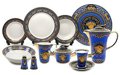 Royalty Porcelain Vintage 49-pc Dinnerware Set