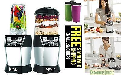 Ninja NN100 Bowl DUO Auto-iQ Boost Kitchen Blender & single serve 1200w 2 x 24oz