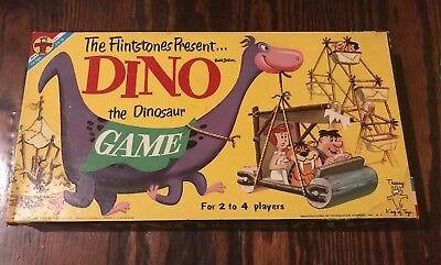 Dino The Dinosaur (The Flintstones Present Dino the Dinosaur Board Game Vintage 1961 Near)