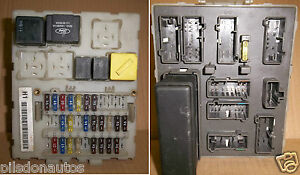 FORD FOCUS 1998 2001 MK1 INTERIOR UNDER DASH FUSEBOX