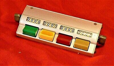 Denominator Company Multiple Tally Counter Mt1x4 Mechanical Counter Traffic