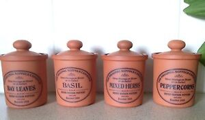 The Original Suffolk Canister - perfect terracotta herb pots- pottery Bulimba Brisbane South East Preview