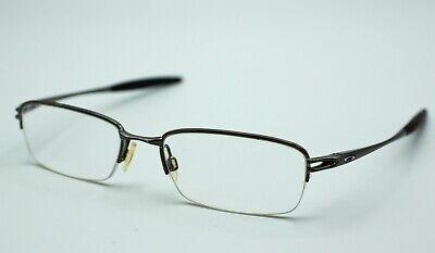 Oakley Valve OX3093-0253 Brushed Chrome Eyeglasses Eyewear Frames 53▢18-135