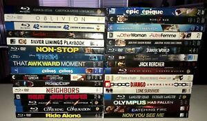 Blu-ray movies unopened