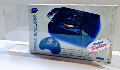 1 Console Box Protector For SEGA SATURN MODEL 1 Boxes    Please check your size!