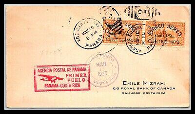 GP GOLDPATH: PANAMA COVER 1930 AIR MAIL _CV691_P06