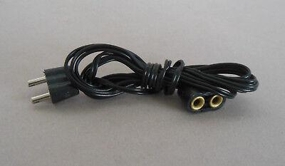 Verlängerung ca. 1 Meter lang; Stecker,Kabel 3,5V;Krippenbeleuchtung, Puppenhaus