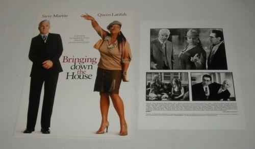 BRINGING DOWN the HOUSE PROMO MOVIE PRESS KIT 6 PHOTOS STEVE MARTIN  LATIFAH