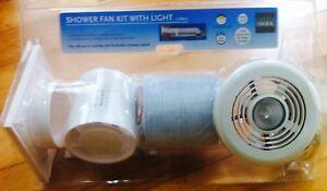 BATHROOM SHOWER FAN LIGHT 100mm 4