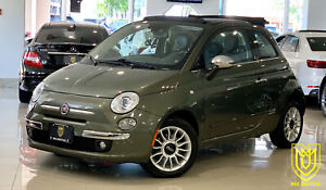 2012 Fiat 500 Conv Lounge|1 OWNER|NO ACCIDENT|SERVICED BY FIAT