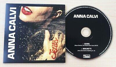 ANNA CALVI Jezebel 2010 UK 2-track promo CD card sleeve