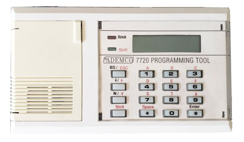 Ademco / 7720P  Programmer Keypad Pre-owned Sold as is