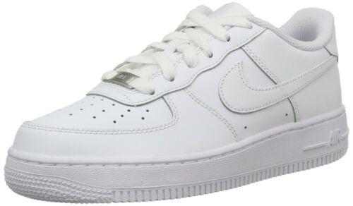 Nike 314192-117: Air Force 1 Kids Fashion Sneakers 4Y-7Y