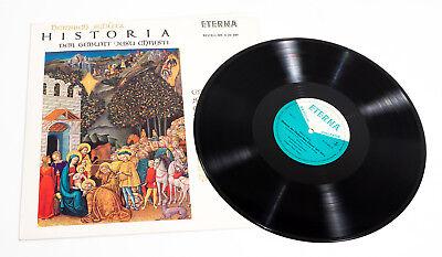 H. Schütz, HISTORIA  Geburt Jesu Christi, Eterna Klassik Schallplatte 8 20 489