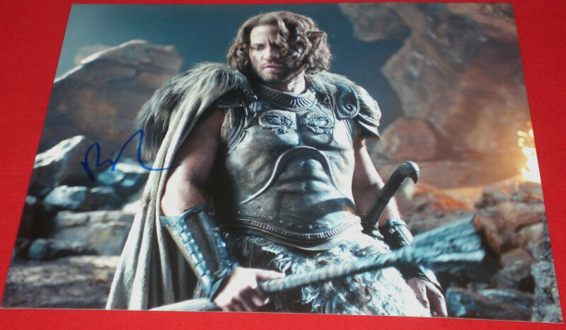 EDGAR RAMIREZ SIGNED WRATH OF TITANS ARES STILL PHOTO AUTOGRAPH COA HANDS STONE