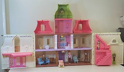 FP LOVING FAMILY DREAM DOLLHOUSE w Furniture People LIGHTS SOUNDS