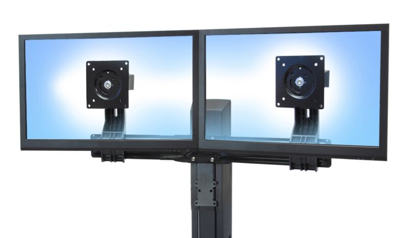 Ergotron WorkFit Dual Monitor Tall User Converter Kit