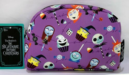 Disney Nightmare Before Christmas Makeup Bag Candy Pop Cupcake Pouch
