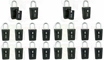 Key Storage Lock Box Realtor Lockboxes Real Estate 4 Digit Lockbox - Pack Of 20