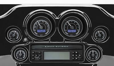 DAKOTA DIGITAL MVX SIX-GAUGE KITS, BLACK BEZEL MVX-8604-KG-K