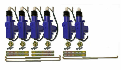 6 Heavy Duty Power Door Lock Actuator Motor 12 Volt for Car Door Locks (3 pairs)