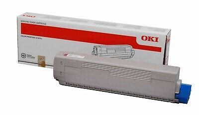 C830 Magenta Toner (Oki Toner magenta 44059106 C810 C830 8.000 Seiten neu und OVP)