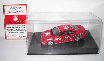 HOLDEN MONARO CV8 DIECAST MODEL CAR RED PETER BROCK 1:43 #635665 Ipswich Ipswich City Preview