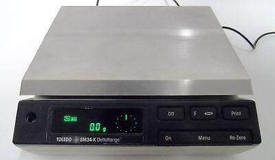 Mettler Toledo Sm34-k Analytical Balance