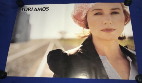 vintage 2002 Tori Amos POSTER Funky UNUSED 22x34in close up