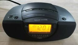 TIMEX AM/FM STEREO ALARM CLOCK RADIO WITH NATURE SOUNDS AND NIGHT LIGHT T276B