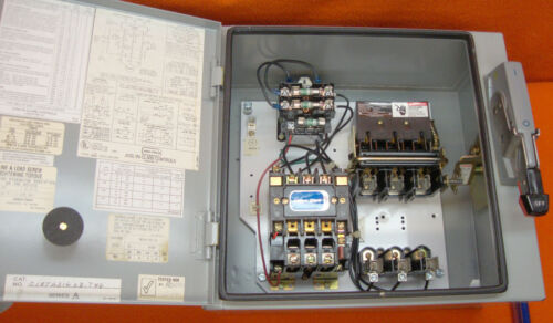 NEW Joslyn Clark C18TA31603-T46 Combo Motor Starter Enclosure On off Disconnect
