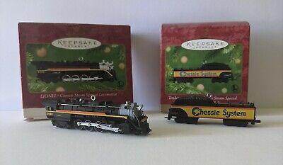 Hallmark Keepsake Lionel Train Chessie Steam Locomotive & Tender Set 2001
