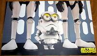 Poster A3 Minions Stomper Star Wars - star wars - ebay.es