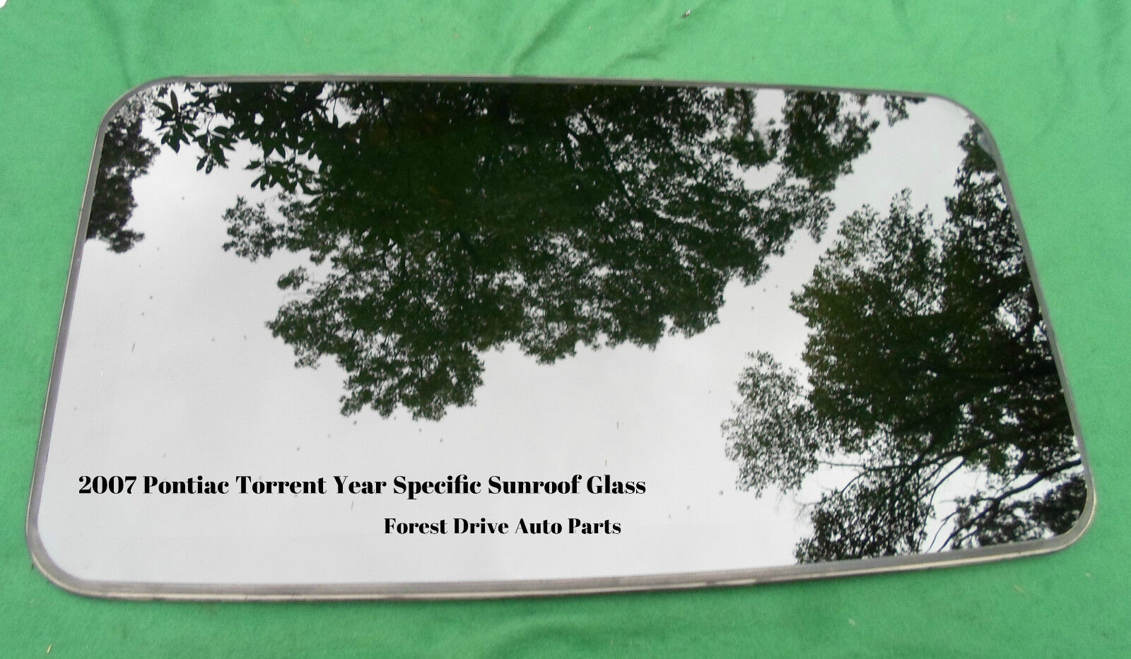 Used Pontiac Torrent Exterior Parts For Sale Factory 2007 Year Specific Sunroof Glass Oem Free Shipping