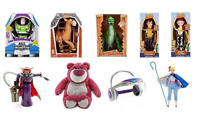 Disney Toy Story 4 Talking Buzz Woody Jessie Zurg Bullseye Action Figure Dolls ()
