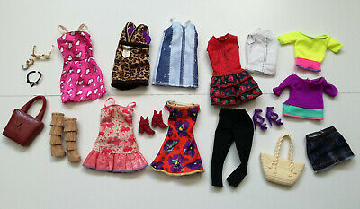 BARBIE DOLLS FASHION LOT BUNDLE CLOTHES